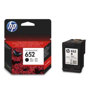 HP 652 černá cartridge