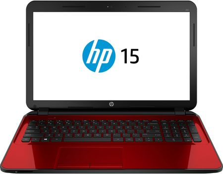 hp pavilion red